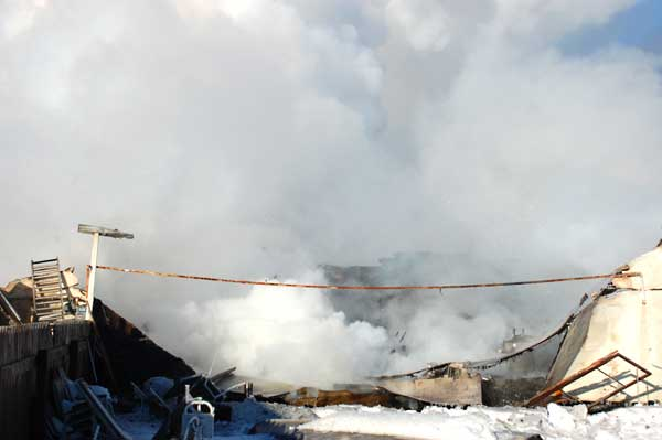 Fire destroys landmark hotel in Sedgewick - The Community ...