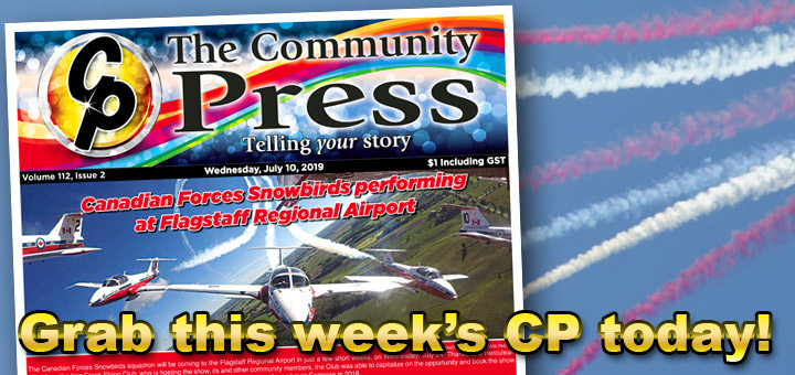 Cover story of this week's CP: Snowbirds to perform at